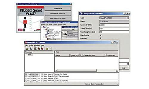 GuardPLC OPC Server Software Image