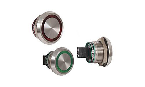 800K Piezoelectric Push Buttons Image