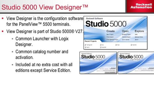 STUDIO 5000 VIEW DESIGNER Image