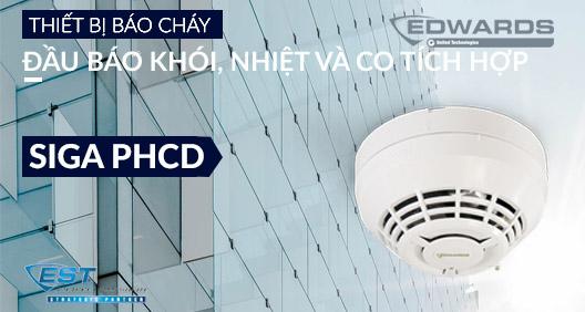 Đầu báo Khói, nhiệt và CO tích hợp thông minh Image